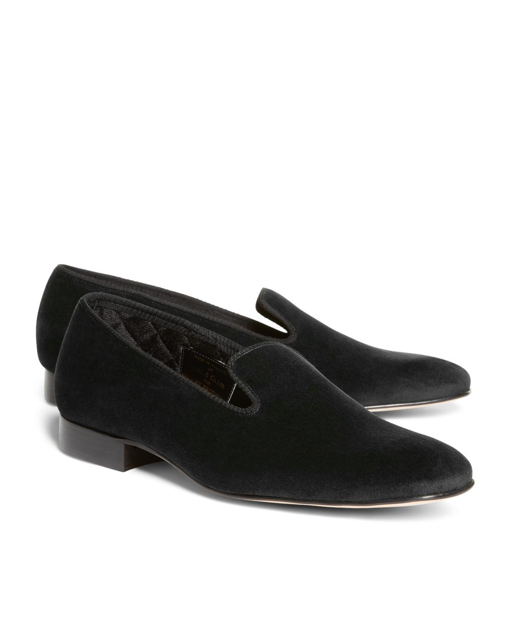 7dd99b50250 Men s Velvet Slippers