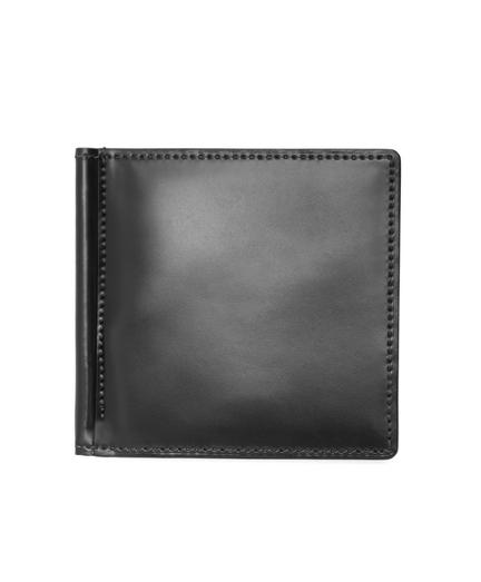 Cordovan Wallet with Money Clip