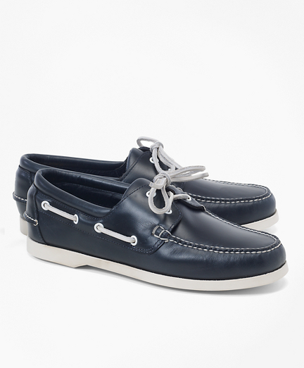 6e401b79992e Leather Boat Shoes. remembertooltipbutton