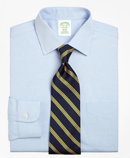 Milano Slim-Fit Dress Shirt, Non-Iron Spread Collar