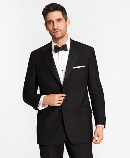 Three-Button Madison Fit Tuxedo Jacket