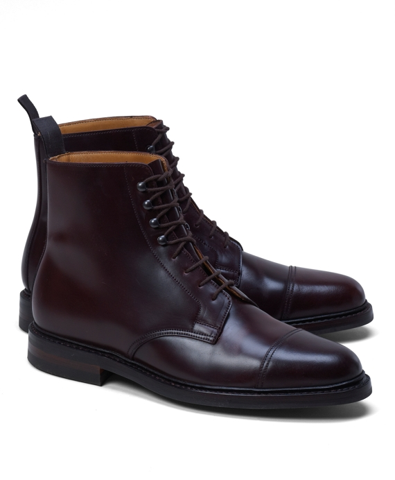 4e2a69dd212 Men s Peal and Co. Burgundy Cordovan Boots