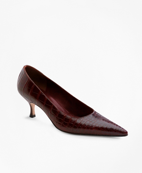 Alligator Pumps Red