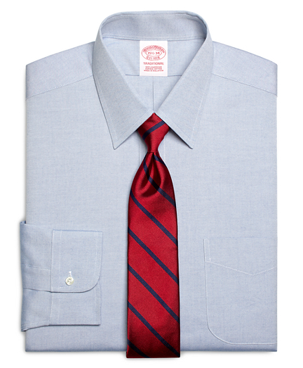 Traditional Extra-Relaxed-Fit Dress Shirt, Forward Point Collar