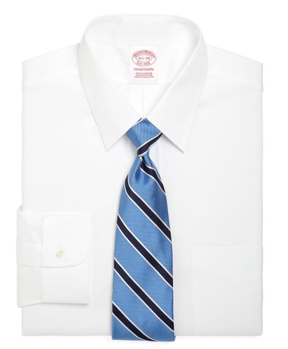 Men's Forward Point Collar Dress Shirt   Brooks Brothers