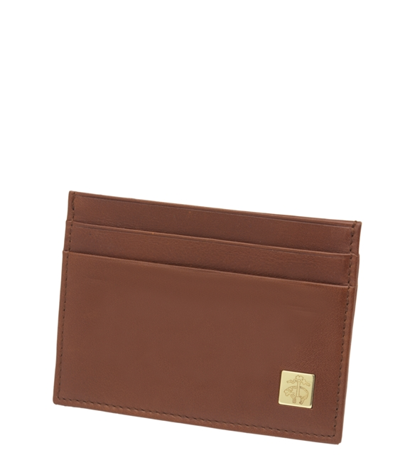 Golden fleece leather slim card case brooks brothers golden fleece leather slim card case brown reheart Images