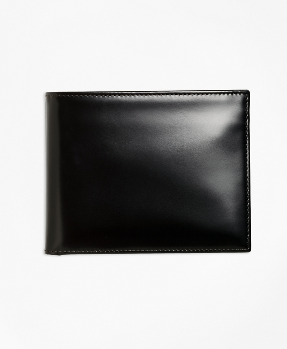 French Calfskin I.D. Wallet Black