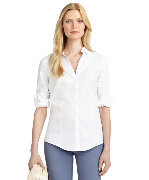 a7b9709427 Women s Petite Non-Iron Fitted Blouse