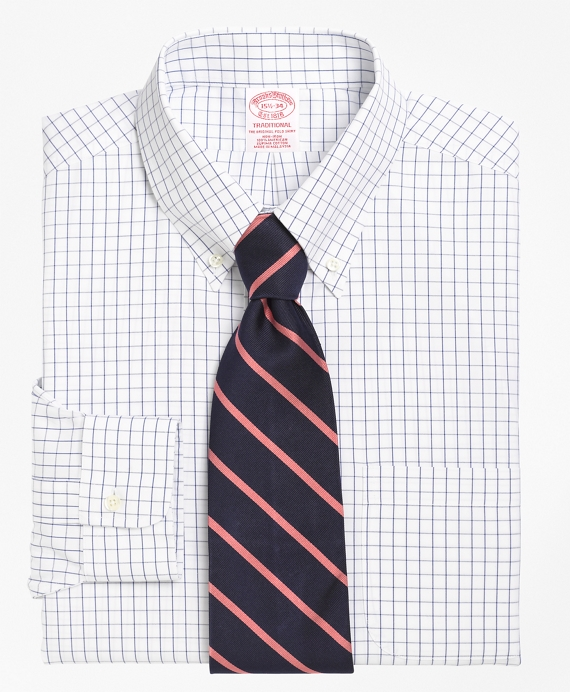 Brooks Brothers Windowpane Dress Shirt