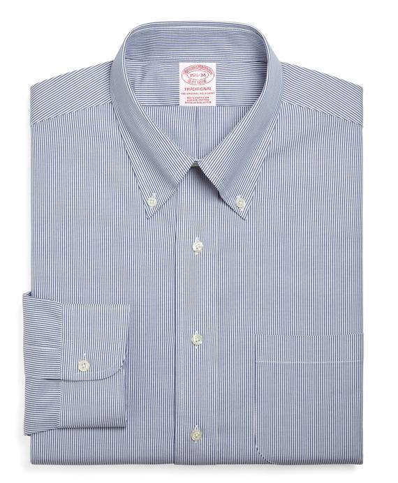 c6de5d20 Men's Traditional Fit Striped Dress Shirt | Brooks Brothers