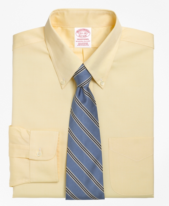 Men's Button-Down Collar Dress Shirt   Brooks Brothers