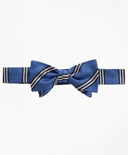 Boys BB# 1 Stripe Pre-Tied Bow Tie