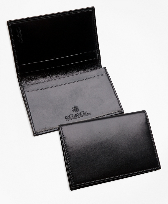 French calfskin business card case brooks brothers french calfskin business card case black colourmoves