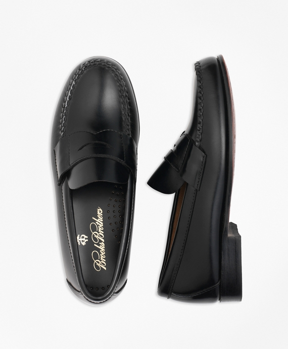 Boys Penny Loafers Black