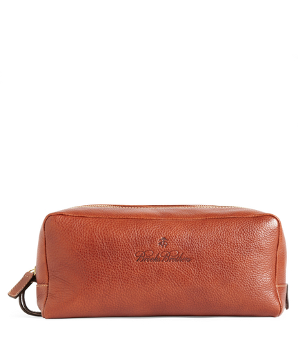 Leather Travel Toiletry Case