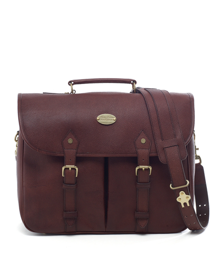 Football Leather Briefcase