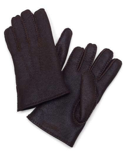 Shearling Napalan Glove