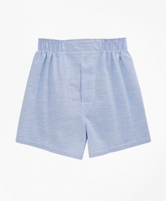 Boys Oxford Full Cut Boxers