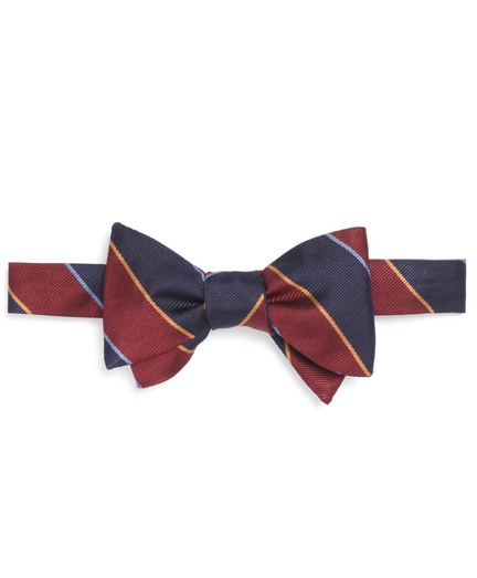 Argyle Sutherland Rep Bow Tie