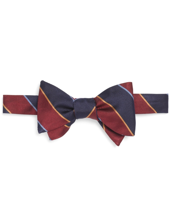 Argyll and Sutherland Rep Bow Tie Burgundy-Navy