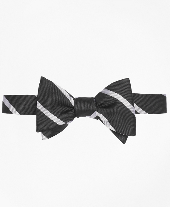 BB#3 Rep Bow Tie Black-White
