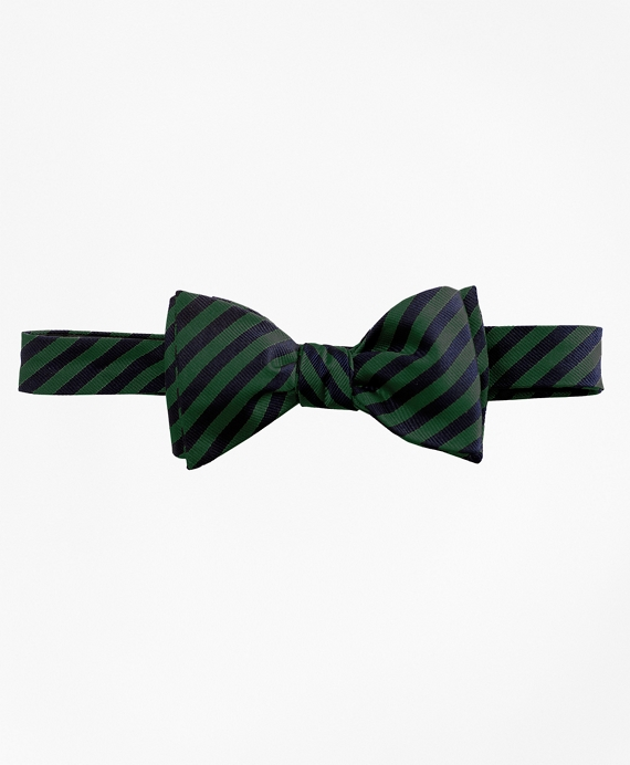 BB#5 Rep Bow Tie Green-Navy