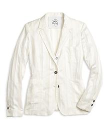 Silk Patch Pocket Jacket