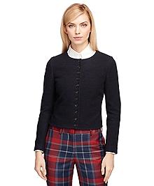 Wool Cropped Jacket