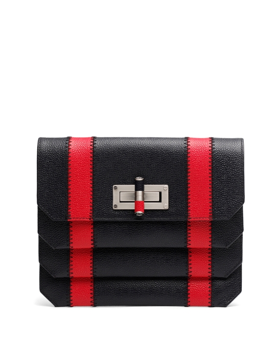 Spectator Clutch Navy-Red