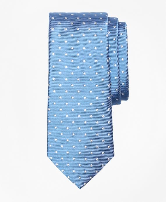 Boys Dot Tie Blue