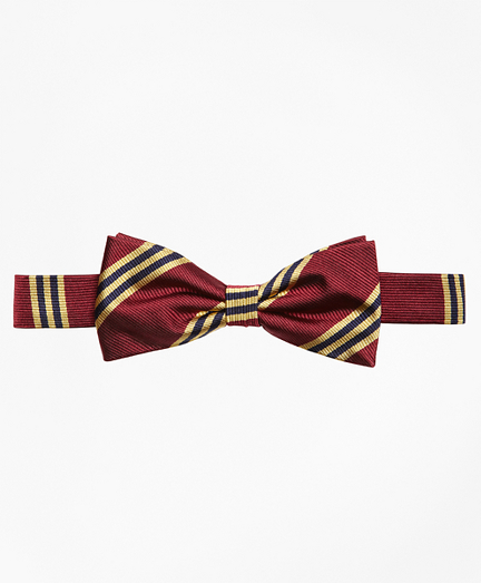 Boys BB#1 Stripe Bow Tie