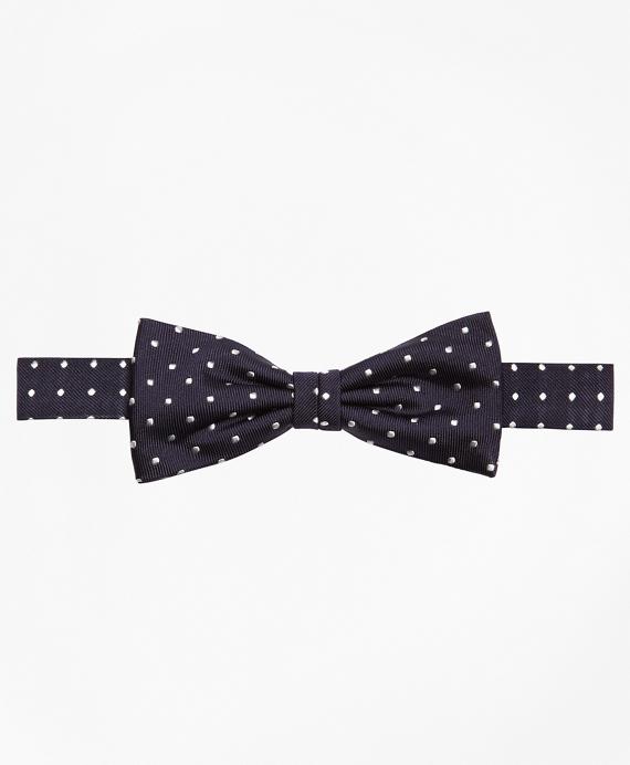 Boys Dot Pre-Tied Bow Tie Navy