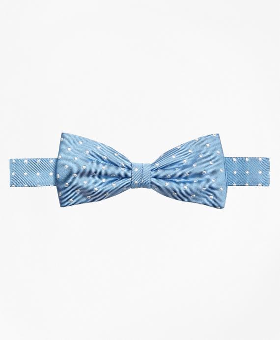 Boys Dot Pre-Tied Bow Tie Blue