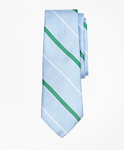 Boys Framed Stripe Tie