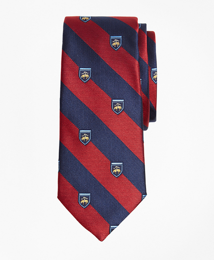 Boys Rugby Fleece Print Tie