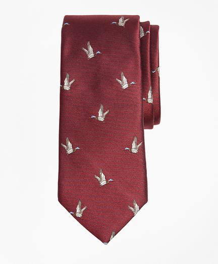 Boys Duck Print Tie