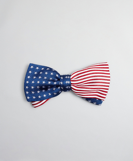 Boys Stars and Stripes Pre-Tied Bow Tie