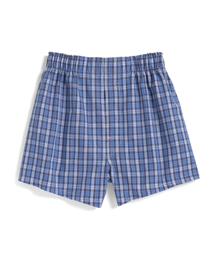 Twin Windowpane Check Boxers