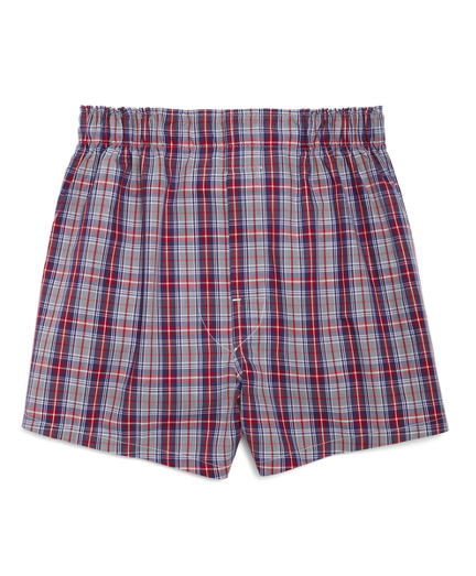 Exploded Plaid Boxers