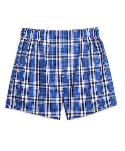 Large Plaid Boxers