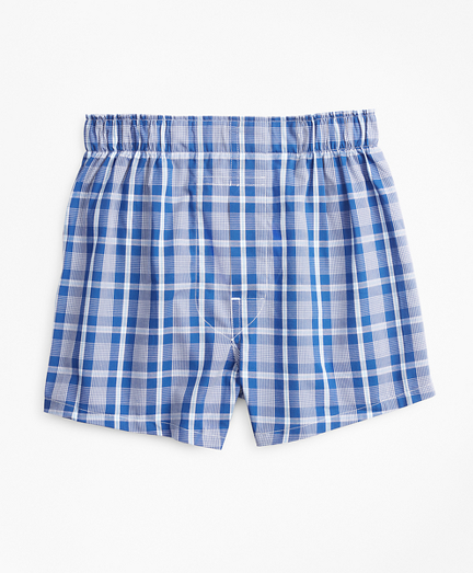 Boys Plaid Boxers