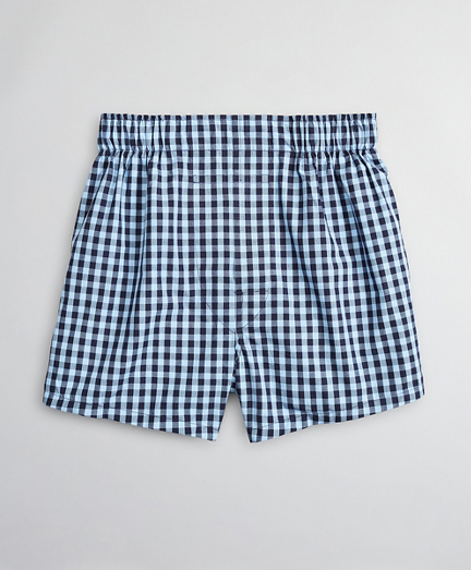 Boys Gingham Boxers