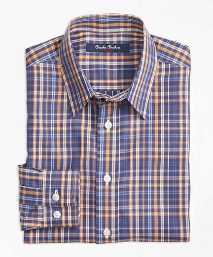 Boys Non-Iron Multi Check Sport Shirt