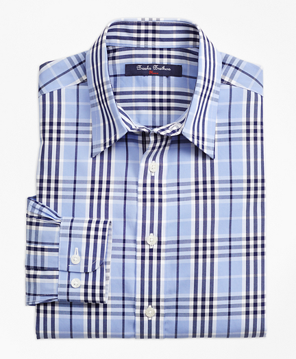 Non-Iron Plaid Sport Shirt