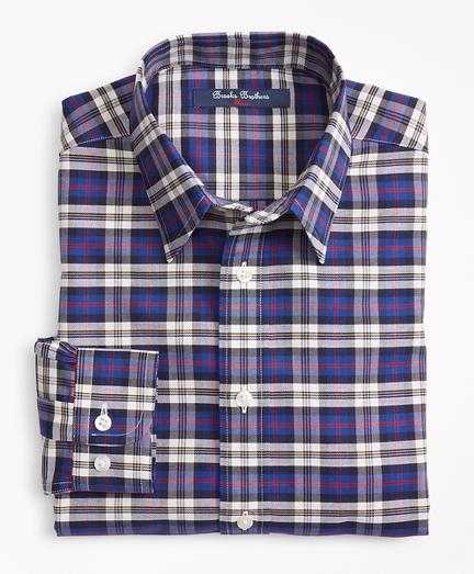 Non-Iron Supima® Cotton Plaid Sport Shirt