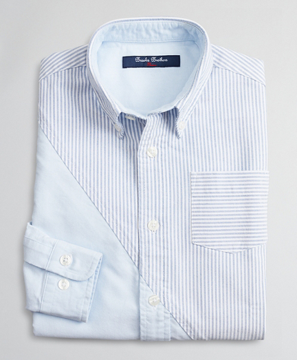 Boys Cotton Oxford Fun Shirt