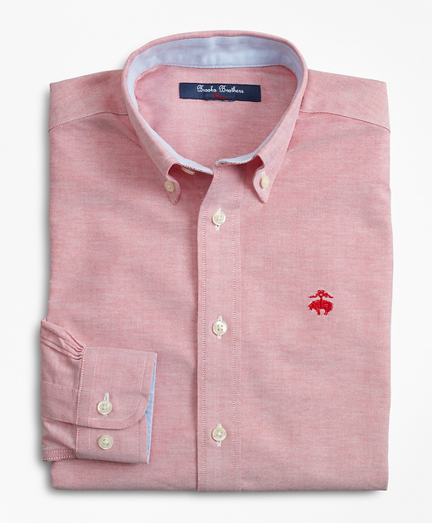 Boys Non-Iron Cotton Oxford Sport Shirt