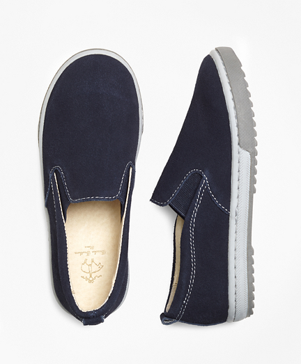 Boys Suede Sneakers