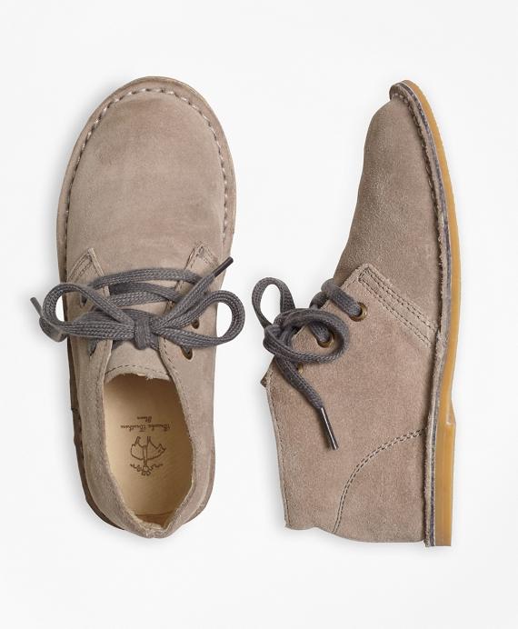 Boys Suede Chukka Boots Tan