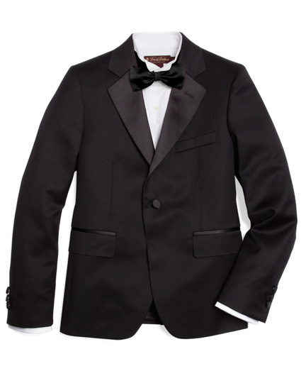 Boys One-Button Tuxedo Junior Jacket